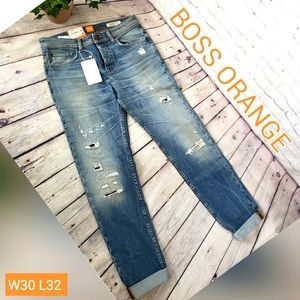 BOSS ORANGE 90 Tapered Fit Jeans size 30×32